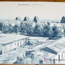 Postales: ANTIGUA POSTAL DE LA GUERRA DEL RIF (MARRUECOS) . RIO MARTIN, VISTA GENERAL - EDICION M. ARRIBAS - S. Lote 6038698