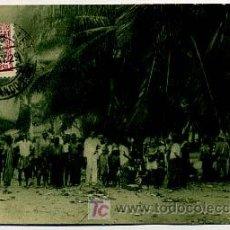 Postales: GUINEA ESPAÑOLA. GUINEA CONTINENTAL. MERCADO INDÍGENA EN BATA. . Lote 6125329