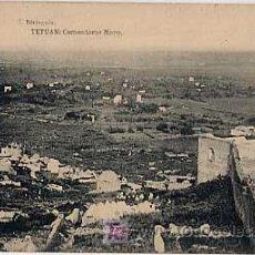 Postales: POSTAL: TETUAN. CEMENTERIO MORO. ED. J. BERINGOLA. FOTOTIPIA HAUSER Y MENET. SIN CIRCULAR. Lote 6318167
