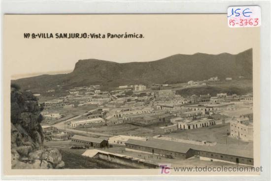 (PS-3763)POSTAL DE VILLA SANJURJO-VISTA PANORAMICA (Postales - Postales Temáticas - Ex Colonias y Protectorado Español)