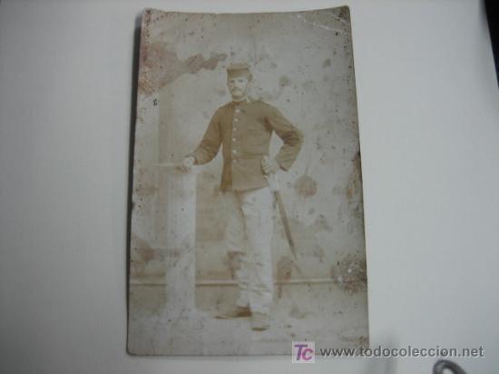 FOTO MILITAR (Postales - Postales Temáticas - Ex Colonias y Protectorado Español)