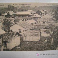 Postales: FERNANDO POO: VISTA PARCIAL DE SANTA ISABEL. Lote 8410276