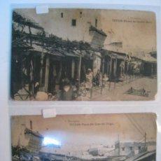 Postales: TETUAN (ESPAÑA) - LOTE 2 POSTALES ORIGINALES. Lote 8617033