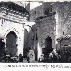 Postales: TETUÁN - 19 UN BELLO RINCÓN DEL BARRIO ÁRABE. Lote 21728991
