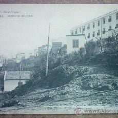 Postales: POSTAL ANTIGUA- LARACHE - CASA GOYA HOSPITAL MILITAR. Lote 24020106
