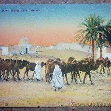 Postales: ANTIGUA POSTAL ARABE - 1179- PASSAGE D`UNE CARAVANRE . Lote 27048712