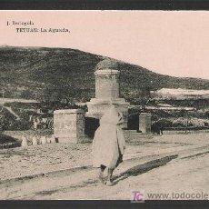 Postales: TETUÁN. LA AGUADA. HAUSER Y MENET. NO CIRCULADA. Lote 23938850