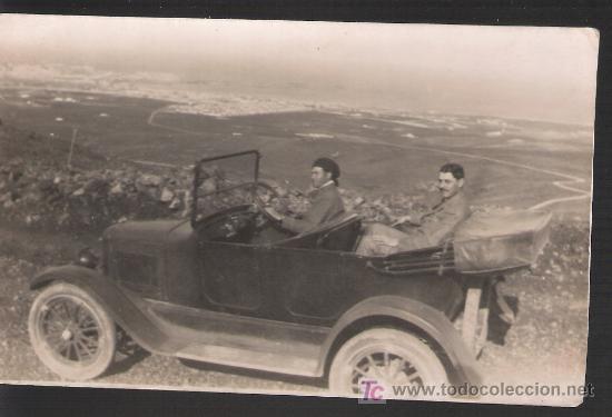 MELILLA. ESCRITO EN REVERSO: MELILLA DESDE EL MONTE GURUGÚ,1924. RARA (Postales - Postales Temáticas - Ex Colonias y Protectorado Español)