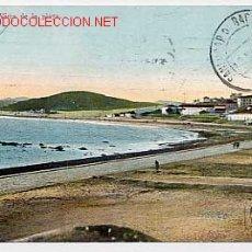 Postales: MARRUECOS TANGER. VISTA DE LA PLAYA. COLECCION HISPANO MARROQUIL ED. A. AREVALO Nº 22. CIRCULADA. Lote 2799120
