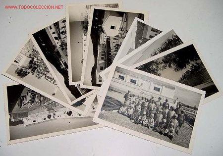 LOTE DE 9 ANTIGUAS FOTOGRAFIAS DE HUERFANOS EN EL ORFANATO FRANCO EN MELUSA - MELLOUSSA (AREA DE TAN (Postales - Postales Temáticas - Ex Colonias y Protectorado Español)