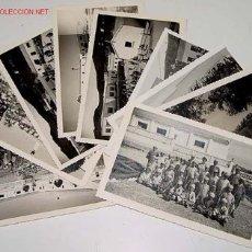 Postales: LOTE DE 9 ANTIGUAS FOTOGRAFIAS DE HUERFANOS EN EL ORFANATO FRANCO EN MELUSA - MELLOUSSA (AREA DE TAN. Lote 27270655