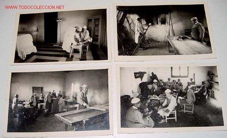 Postales: LOTE DE 10 ANTIGUAS FOTOGRAFIAS NIÑOS Y NIÑAS HUERFANOS APRENDIENDO OFICIOS EN EL ORFANATO FRANCO EN - Foto 3 - 26947757