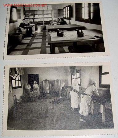 Postales: LOTE DE 10 ANTIGUAS FOTOGRAFIAS NIÑOS Y NIÑAS HUERFANOS APRENDIENDO OFICIOS EN EL ORFANATO FRANCO EN - Foto 4 - 26947757