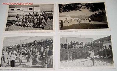Postales: LOTE DE 9 ANTIGUAS FOTOGRAFIAS DE HUERFANOS EN EL ORFANATO FRANCO EN MELUSA - MELLOUSSA (AREA DE TAN - Foto 2 - 27270655