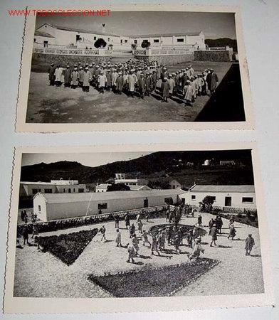 Postales: LOTE DE 9 ANTIGUAS FOTOGRAFIAS DE HUERFANOS EN EL ORFANATO FRANCO EN MELUSA - MELLOUSSA (AREA DE TAN - Foto 4 - 27270655