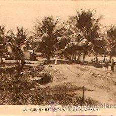 Postales: POSTAL GUINEA ESPAÑOLA RIO BENITO UNA CALLE. Lote 9981811