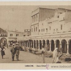 Postales: TARJETA POSTAL DE LARACHE ZOCO CHICO. Lote 10135713