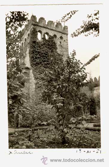XAUEN ( ANTIGUO MARRUECOS ESPAÑOL) TORRE ALCAZABA / FOTOGRAFÍA ORIGINAL / 1951 (Postales - Postales Temáticas - Ex Colonias y Protectorado Español)