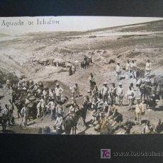 Postales: POSTAL COLONIA ESPAÑOLA: AGUADA DE ISHAFEN (MARRUECOS). Lote 10320424