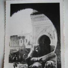 Postales: TETUAN.Nª 112. MEZQUITA DE ZAUIA DEL ARRAK. CIRCULADA 1952. Lote 20380553