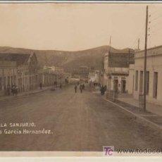 Postales: POSTAL ANTIGUAL : 18 VILLA SANJURJO. AVENIDA GARCÍA HERNÁNDEZ. Lote 19231351