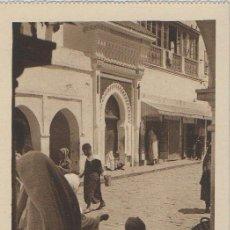 Postales: TARJETA POSTAL LARACHE VENDEDORES DEL ZOCO CHICO AFRICA ESPAÑOLA . Lote 11506454