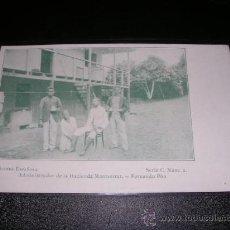 Postales: GUINEA ESPAÑOLA ADMINISTRADOR DE LA HACIENDA MONTSERRAT.FERNANDO POO,SERIE C N. 2.. Lote 12064867