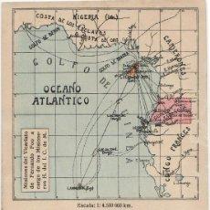 Postales: TARJETA POSTAL DE FERNANDO POO (GUINEA ESPAÑOLA) - ISLA DE FERNANDO POO. Lote 15285546
