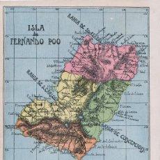 Postales: TARJETA POSTAL DE FERNANDO POO (GUINEA ESPAÑOLA) - ISLA DE FERNANDO POO. Lote 12871305