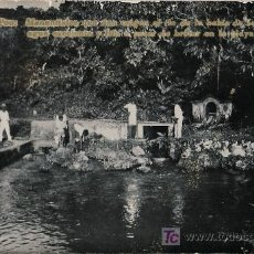 Postales: TARJETA POSTAL DE FERNANDO POO (GUINEA ESPAÑOLA) - MANANTIALES RIO DE LA BAHIA DE SAN CARLOS. Lote 12876932