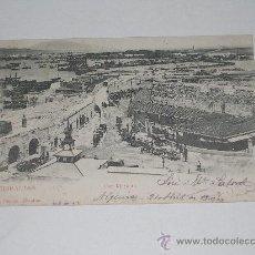 Postales: GIBRALTAR . THE MARKETS . EDIC. V.B. CAMBO . CIRCULADA EN 1908 . Lote 12788970