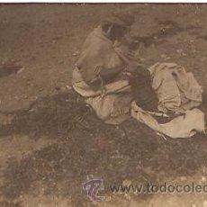 Postales: TIPOS Y COSTUMBRES DE MARRUECOS VENDEDORA DE PERDICES. Lote 13430103