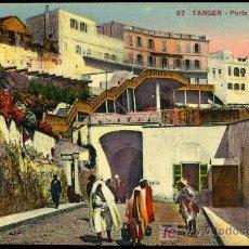 Cartes Postales: TARJETA POSTAL DE TANGER Nº87 PORTE DE LA MARINE,LEVY ET NEURDEIN RÉUNIS. Lote 13511739