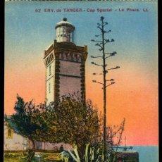 Postales: TARJETA POSTAL DE TANGER Nº52 CAP SPARTEL- LE PHARE. LEVY ET NEURDEIN RÉUNIS. Lote 13511800