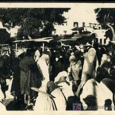 Postales: TRAJETA POSTAL DE TANGER Nº10 UN COIN DU GRAND SOCCO, REAL-PHOTO. Lote 13511849