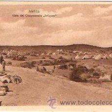Postales: POSTAL MELILLA VISTA DEL CAMPAMENTO ISTIGUEN. Lote 15685458
