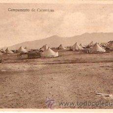 Postales: POSTAL MELILLA CAMPAMENTO DE CABRERIZAS . Lote 13581882