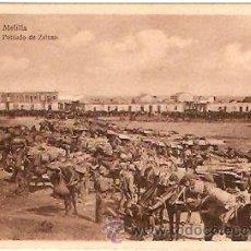 Postales: POSTAL MELILLA VISTA GENERAL DEL POBLADO DE ZELUAN. Lote 15685450