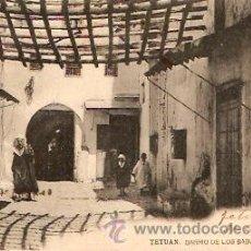 Postales: POSTAL TETUAN BARRIO DE LOS BABUCHEROS . Lote 13583348