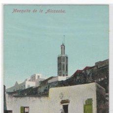 Postales: TARJETA POSTAL DE TANGER MEZQUITA DE LA ALCAZABA AFRICA ESPAÑOLA. Lote 13632768