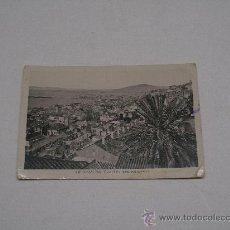 Postales: GIBRALTAR . WIEW OF THE TOWN , AND HARBOUR . FOT. L. ROISIN . SIN CIRCULAR . Lote 14764998