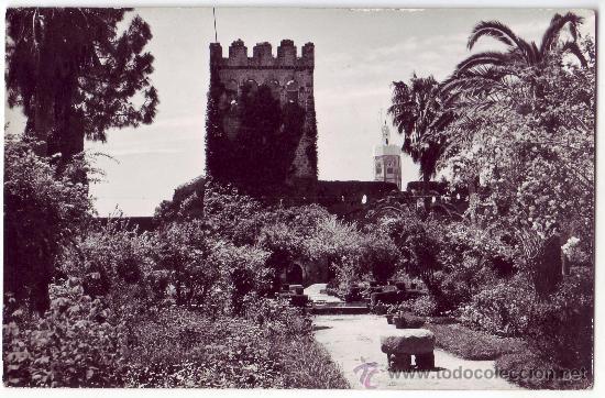 XAUEN (PROTECTORADO ESPAÑOL EN MARRUECOS): LA ALCAZABA. FOTO GARCÍA CORTÉS. NO CIRCULADA (AÑOS 50) (Postales - Postales Temáticas - Ex Colonias y Protectorado Español)