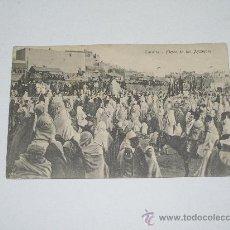 Postales: MARRUECOS . LARACHE . FIESTA DE LOS AYSAGUAS . ANIMADA . SIN CIRCULAR . EDIC. TADDEI .. Lote 16040381