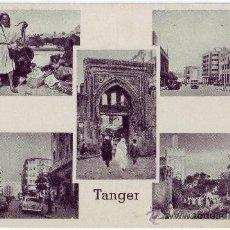 Postales: TÁNGER (MARRUECOS): 5 VISTAS. EDITION TUKKER. NO CIRCULADA (AÑOS 50). Lote 27174675