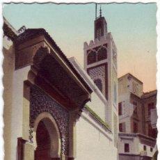 Postales: TÁNGER (MARRUECOS): LA GRAN MEZQUITA DEL ZOCO CHICO. EDICIÓN CAP. NO CIRCULADA (AÑOS 50). Lote 27174792