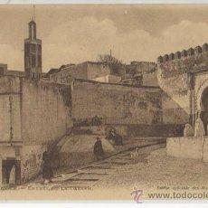 Postales: TARJETA POSTAL DE TANGER ENTREE DE LA CASBAH AFRICA ESPAÑOLA. Lote 16464687