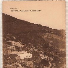 Postales: 0696- TETUÁN - POBLADO DE BENI SALEN - J. BERINGOLA HAUSER Y MENET. Lote 27567763