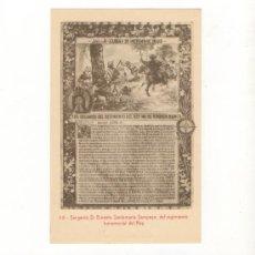 Postales: 22 POSTALES DEL LIBRO DE HONOR DE LA INFANTERIA ESPAÑOLA MILITAR CUBA FILIPINAS AFRICA EJERCITO. Lote 218357657