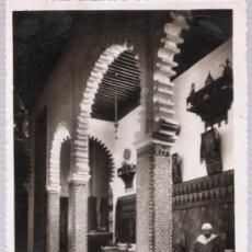 Postales: TETUÁN.- PALACIO MORO. FRANQUEADO Y FECHADO EN TETUÁN EN 1951.. Lote 21194180