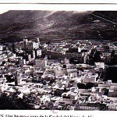 Postales: POSTAL TETUAN UNA HERMOSA VISTA DE LA CIUDAD DEL NORTE DE AFRICA FOT. RUBIO. Lote 22063752